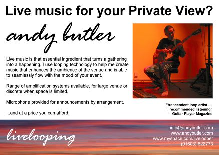 to book a performance  -  bookings@andybutler.com